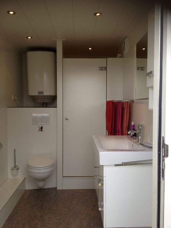 Badkamer unit huren bij aannemersbedrijf wiggers winterswijk - Badkamer in lengte ...